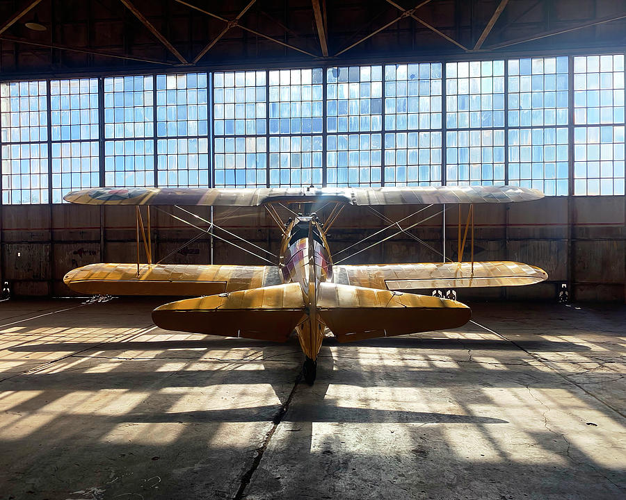 Stearman Digital Art - Bobs Stearman by Hangar B Productions