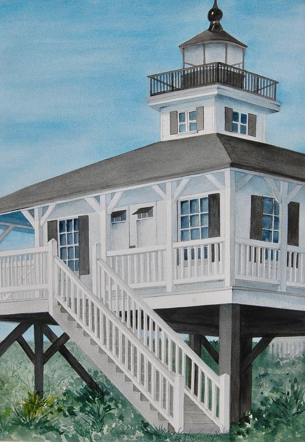 Boca Grande Lighthouse by Lael Rutherford