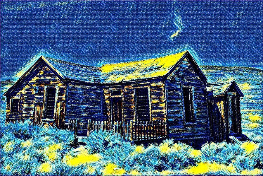 Bodie cabin by Steven Wills