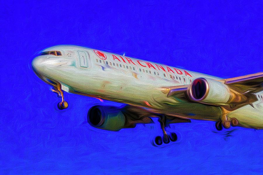 Boeing 767 Art Air Canada Photograph