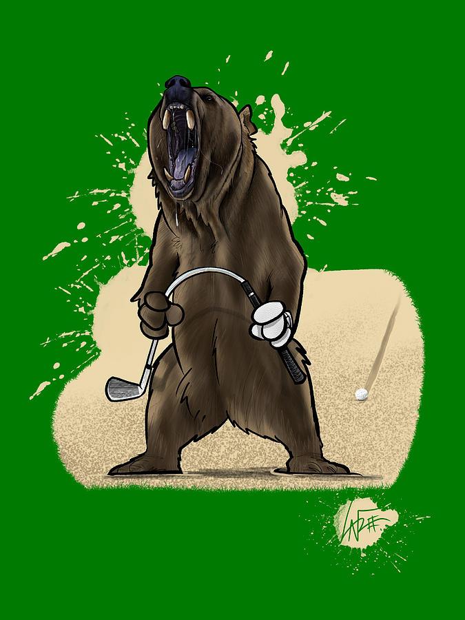 Bogey Bear Drawing