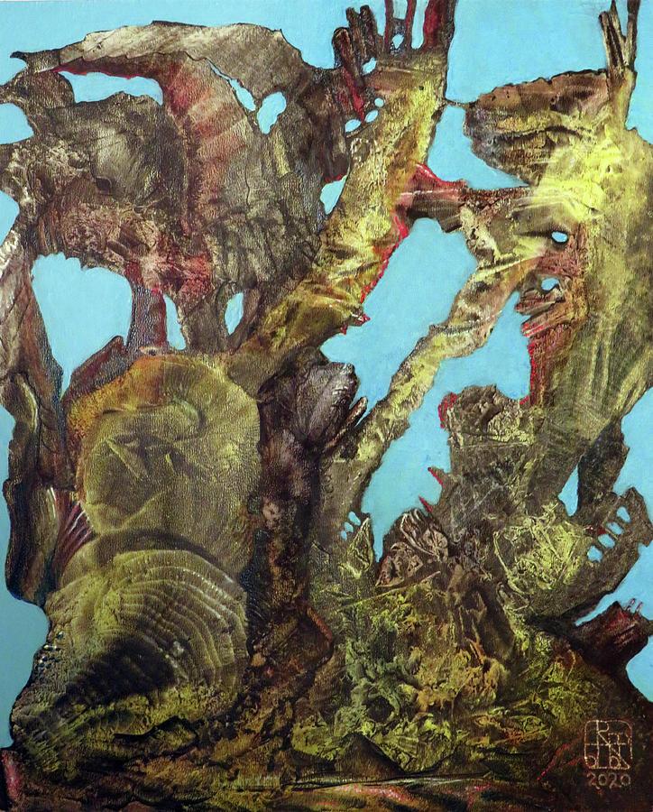 Bogomil Alien Landscape Painting