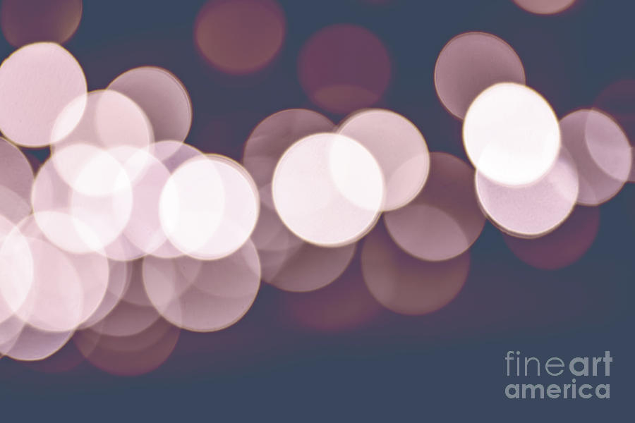 Bokeh focus lens effect Rose Quartz and Serenity color background by Gregory DUBUS