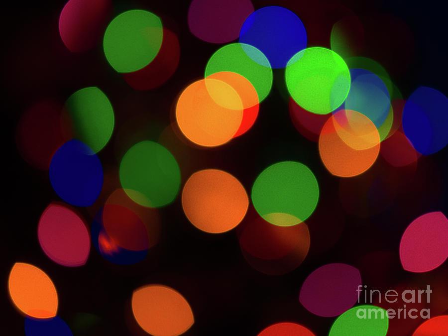 Abstract Photograph - Bokeh Lights 2 by Ian McGregor