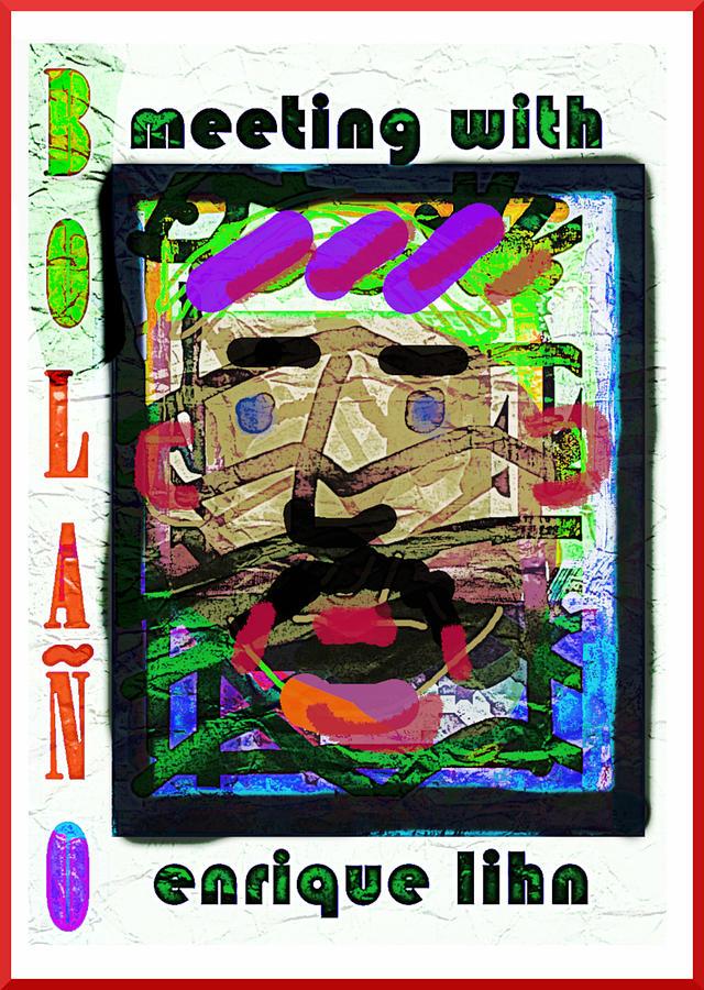 Bolano enrique lihn poster  by Paul Sutcliffe