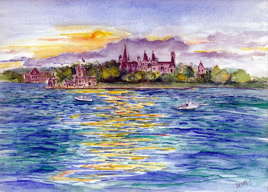 Boldt Castle -Thousand Islands by Clara Sue Beym