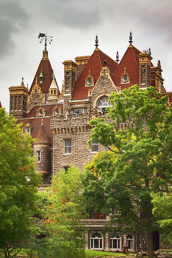 Boldt Castle Photograph - Boldt Castle Westminster Park Ny by Mike Braun
