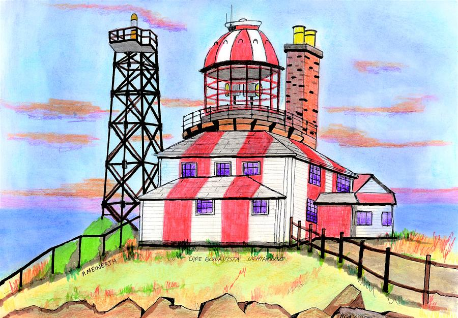 Bonavista Lighthouse Drawing