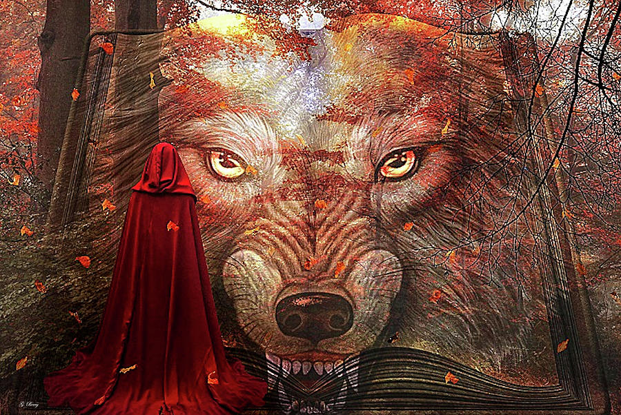 BOOK OF LITTLE RED RIDING HOOD by G Berry