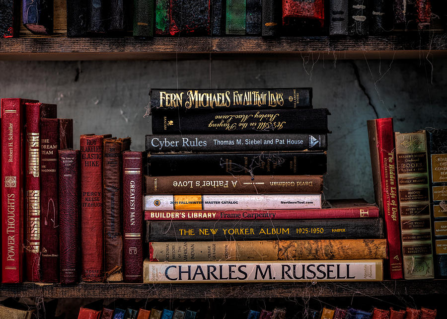 Books new and old by Alessandra RC
