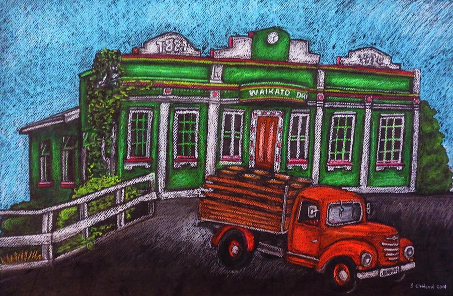Boozy On Bridge St - Waikato Draught Brewery. Hamilton, New Zealand Drawing
