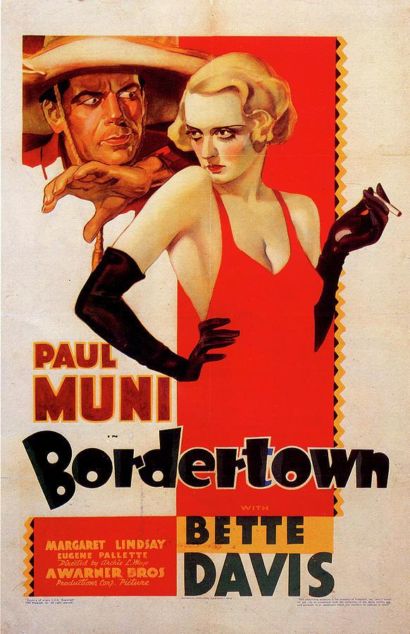 bordertown Movie Poster 1935 Mixed Media