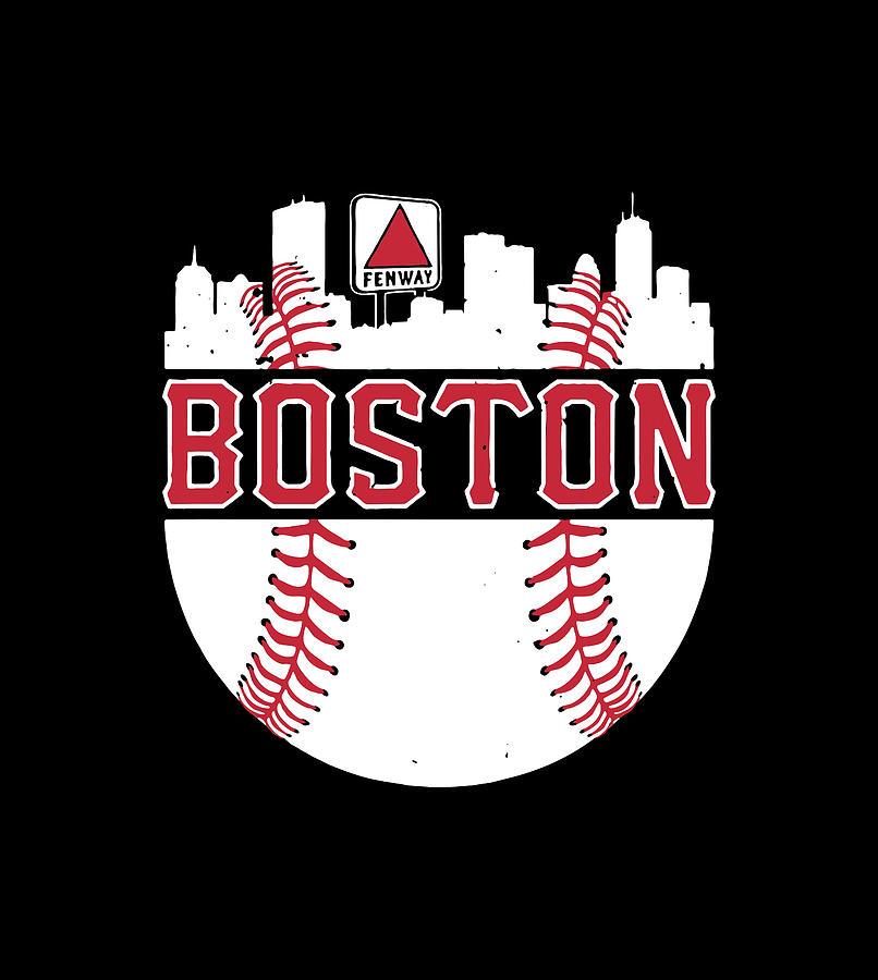 Boston Baseball Digital Art