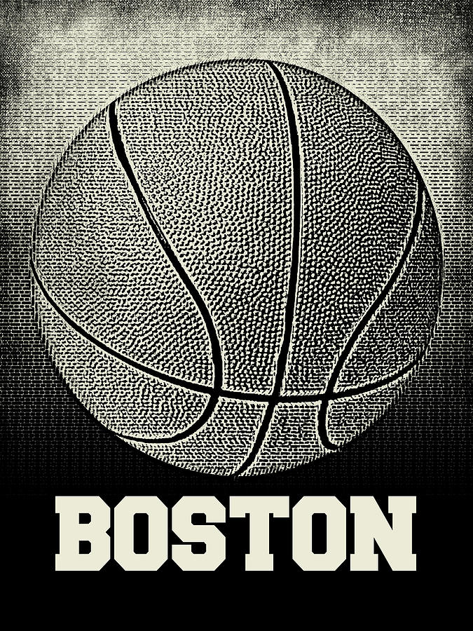 Boston Basketball - Sports by Flo Karp