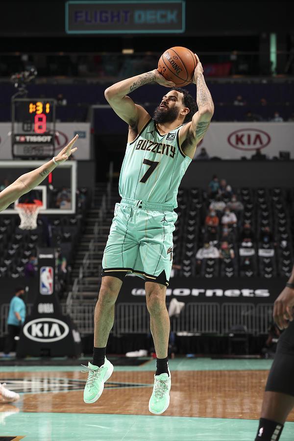 Boston Celtics v Charlotte Hornets Photograph by Kent Smith