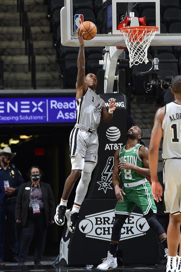 Boston Celtics v San Antonio Spurs Photograph by Logan Riely