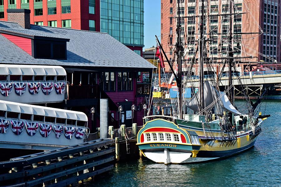 Boston Harbor Daytime tea Party Museum by Frozen in Time Fine Art Photography