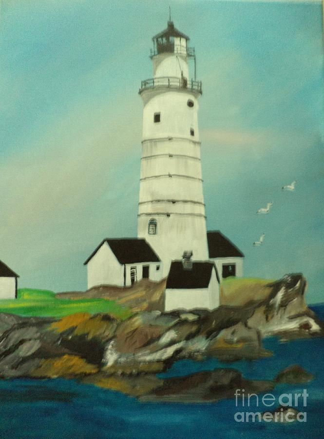 Boston Lighthouse by Donald Northup