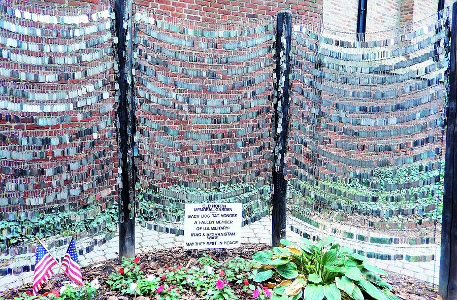 Boston Old North Church Memorial Garden 300 Photograph