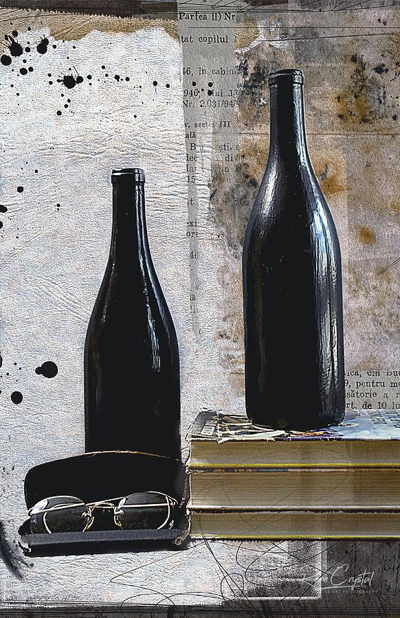 Bottles N Books by Rene Crystal