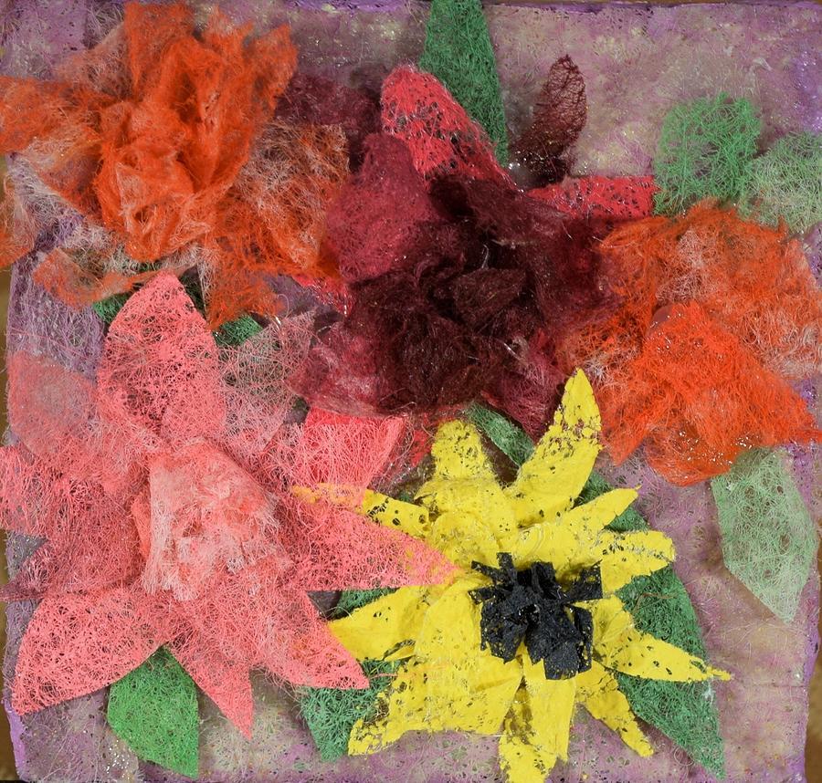 Flowers Mixed Media - Bouquet by Charla Van Vlack