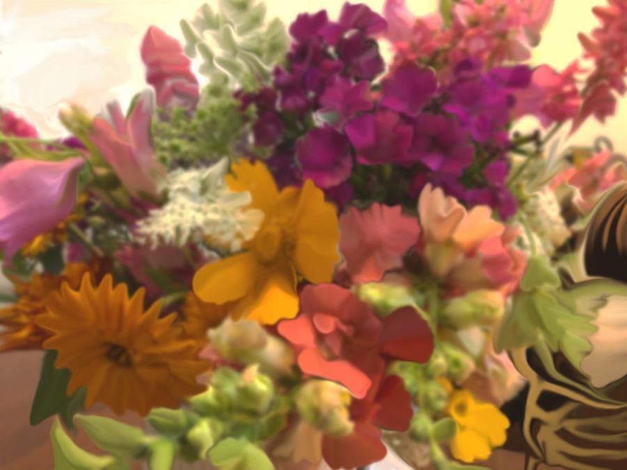 Bouquet Digital Art
