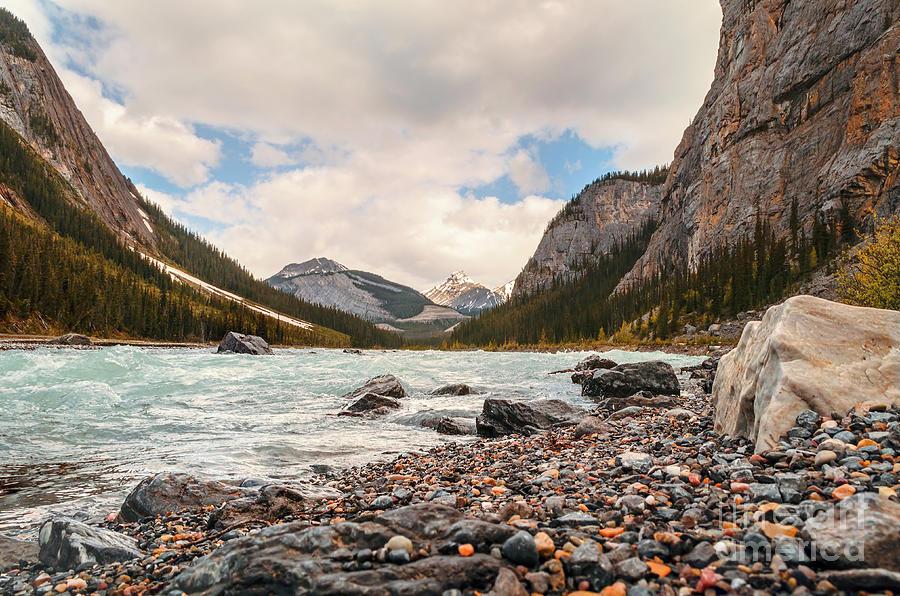 Bow River - Banff, Canada Photograph