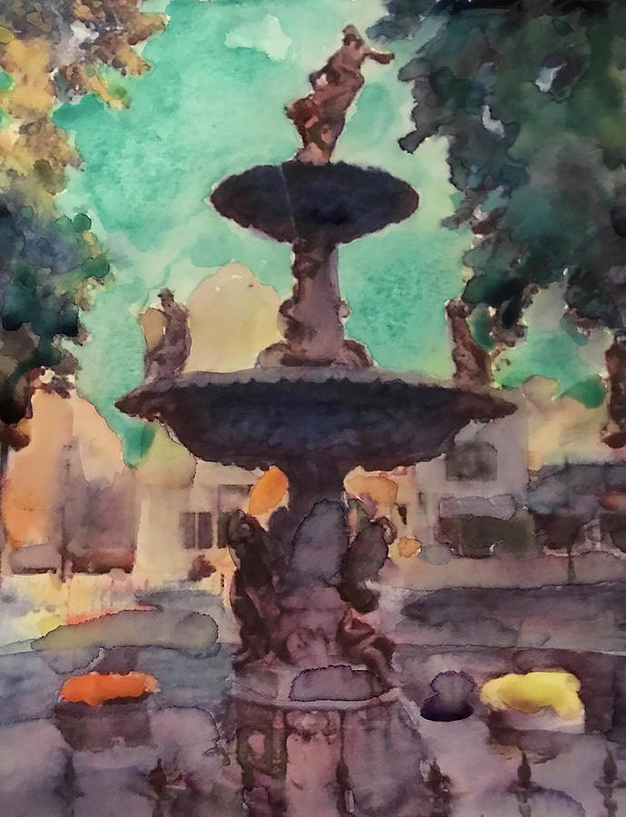Bowling Green, Ky Painting by Nick Mantlo-Coots