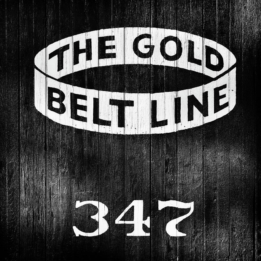 Boxcar 347 - Gold Belt Line Photograph