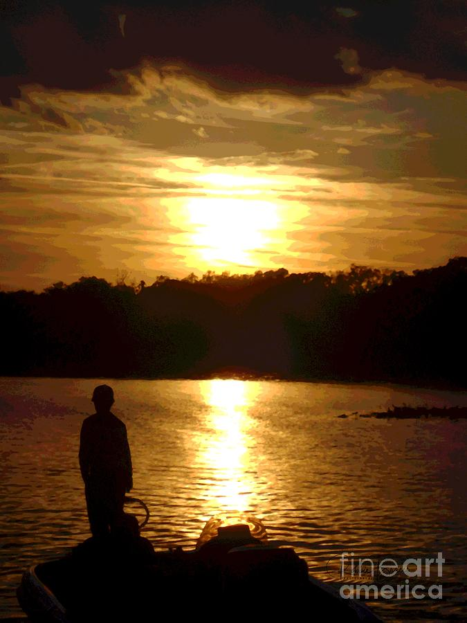 Boy, Captured in the Sunset at Venetian Gardens by Philip and Robbie Bracco