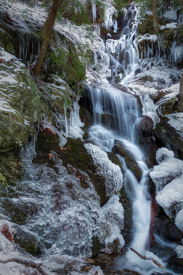 Brace Mountain Icy Falls 2 by Bill Wakeley