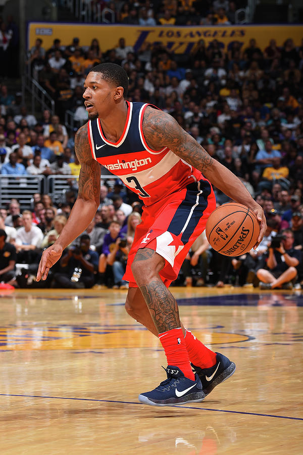 Bradley Beal Photograph by Andrew D. Bernstein