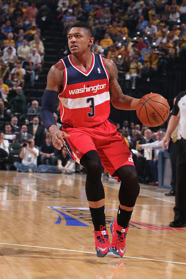 Bradley Beal Photograph by Gary Dineen