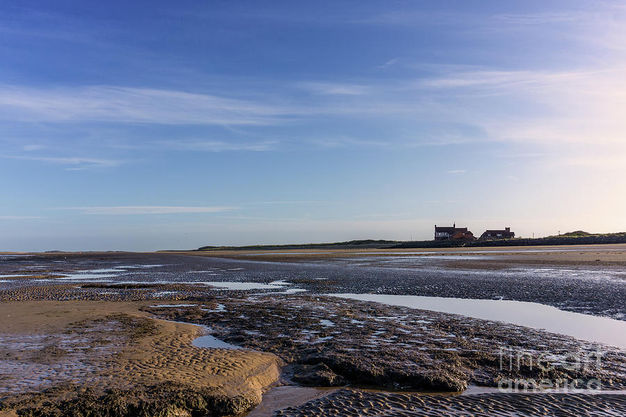 Brancaster Beach At Low Tide Photograph