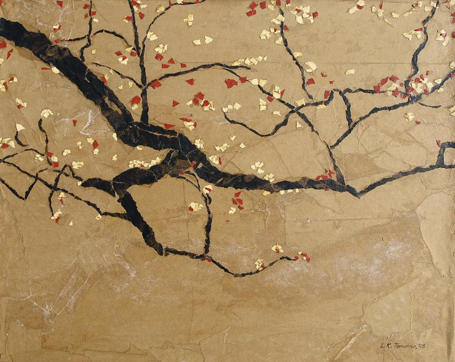 Contemporary Painting - Branch by Leah  Tomaino
