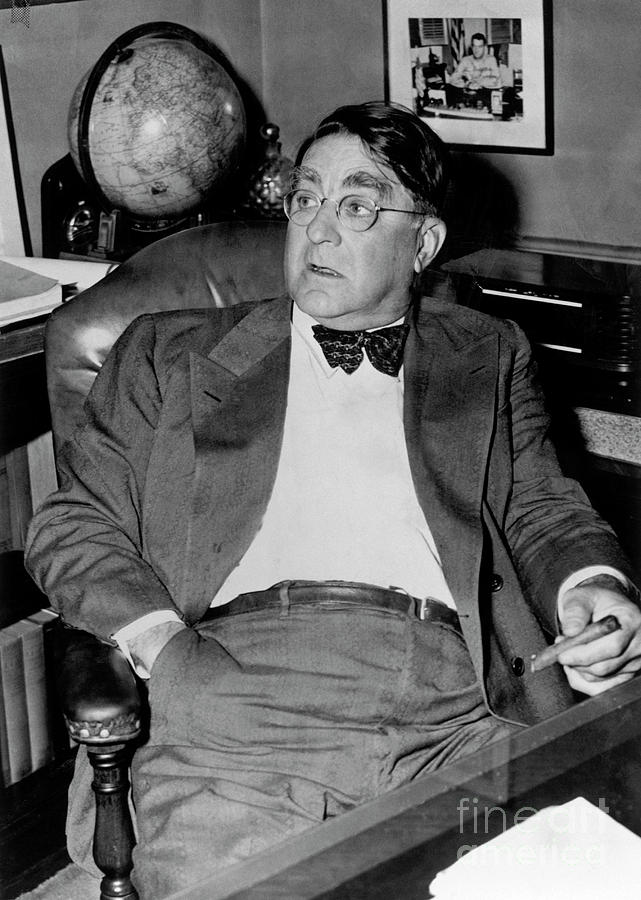 Branch Rickey Photograph by National Baseball Hall Of Fame Library