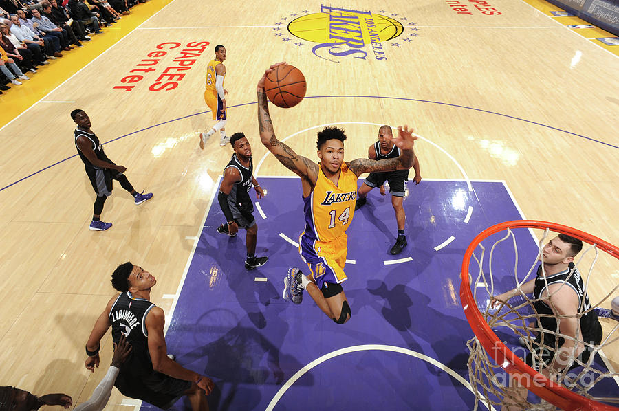 Brandon Ingram Photograph by Andrew D. Bernstein