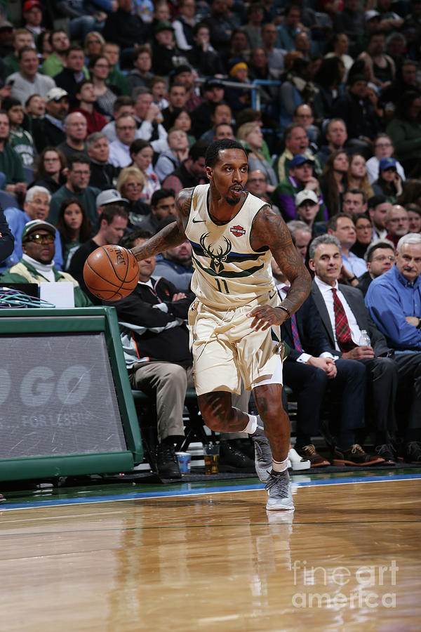 Brandon Jennings Photograph by Gary Dineen