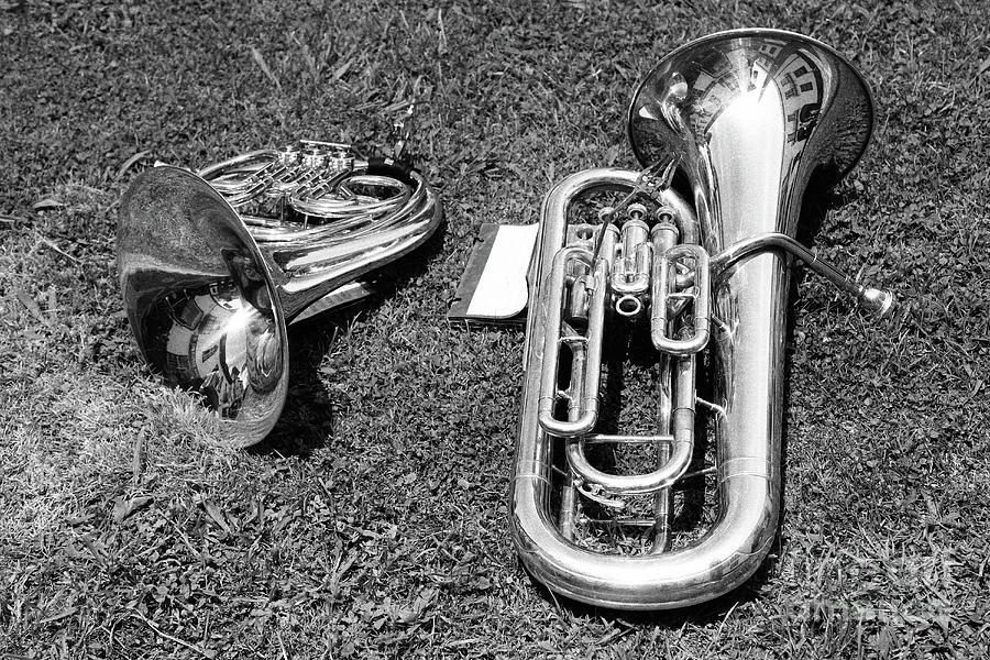 Brass Musical Instruments Photograph