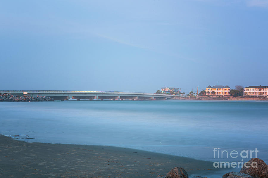 Breach Inlet Silky Waters Photograph