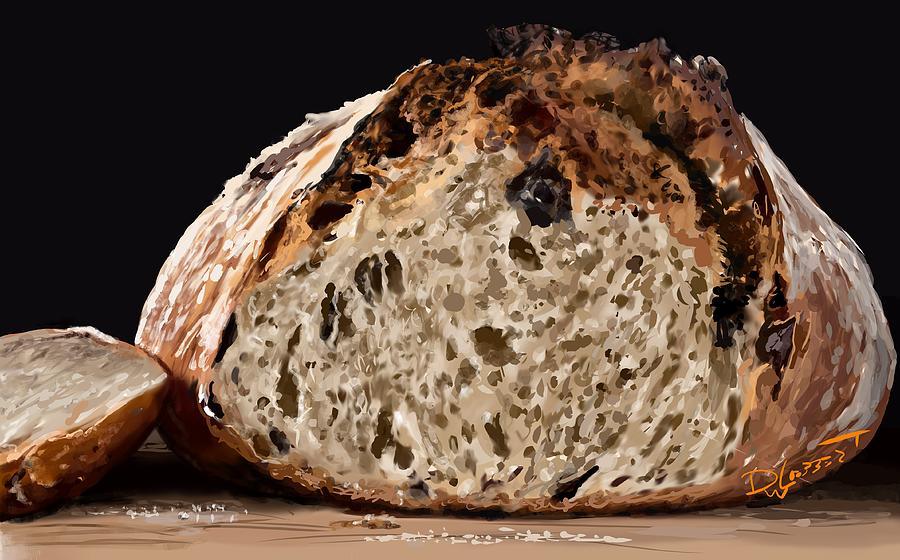 Bread Digital Art