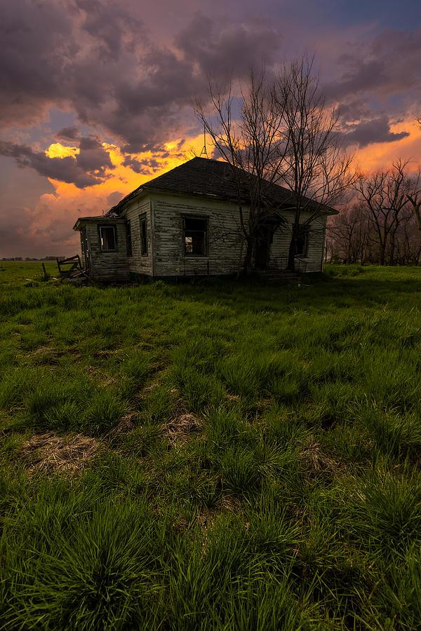 Thunderhead Photograph - Breaking Inside by Aaron J Groen