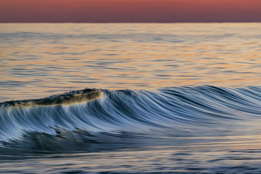 Breaking Wave at Sunset by Chris Buff