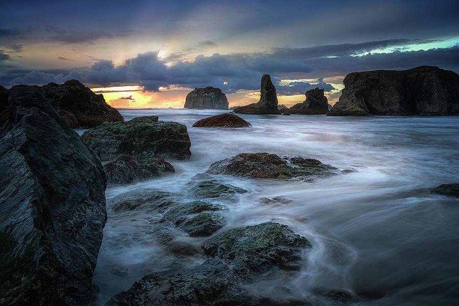 Breathtaking Bandon Oregon Photograph