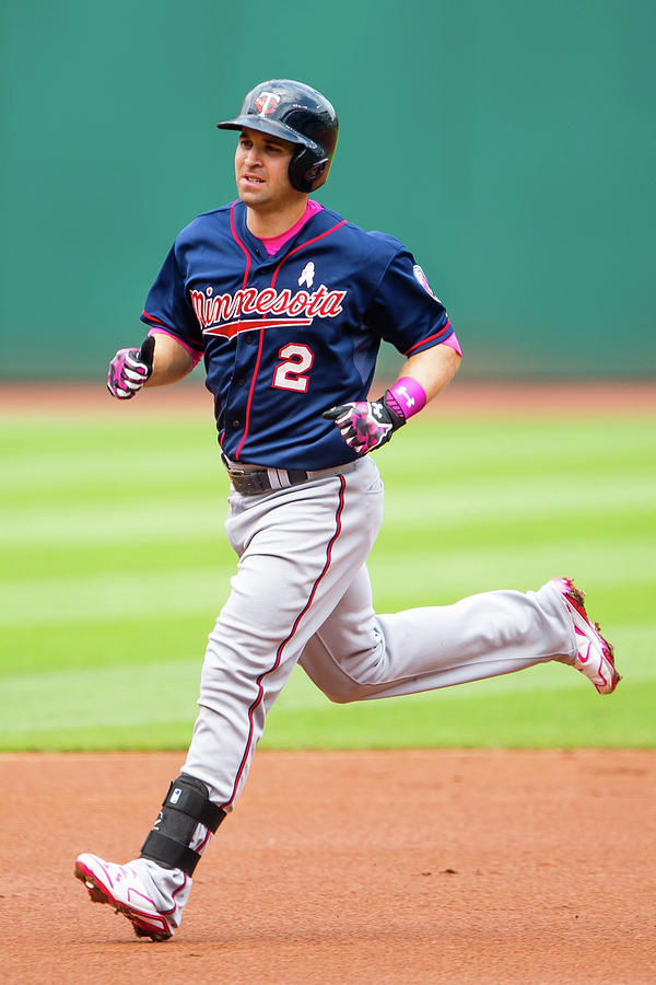 Brian Dozier Photograph by Jason Miller