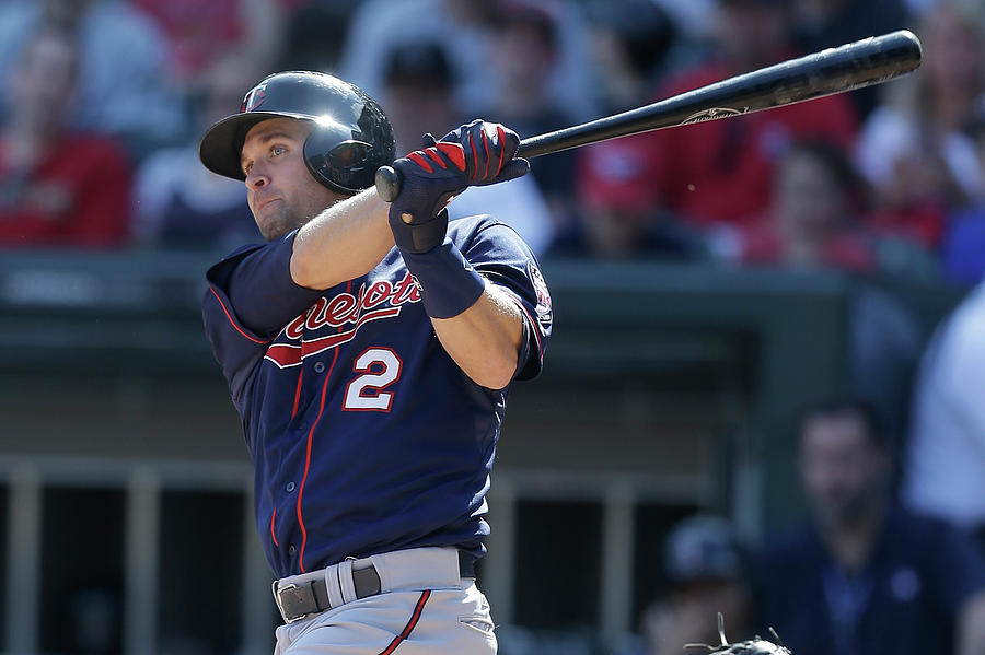 Brian Dozier Photograph by Mike Mcginnis