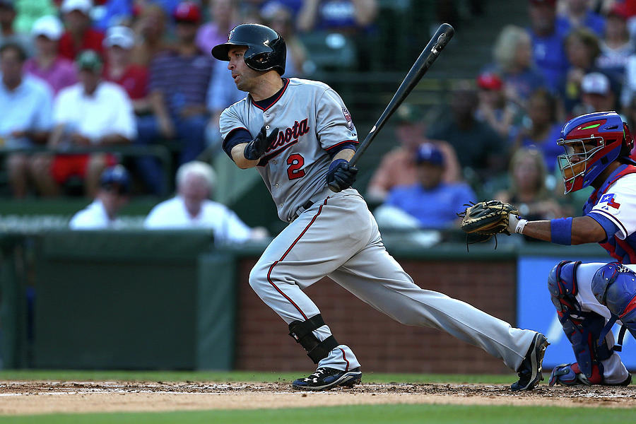 Brian Dozier Photograph by Sarah Crabill
