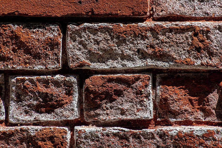 Brick Wall Detail Photograph