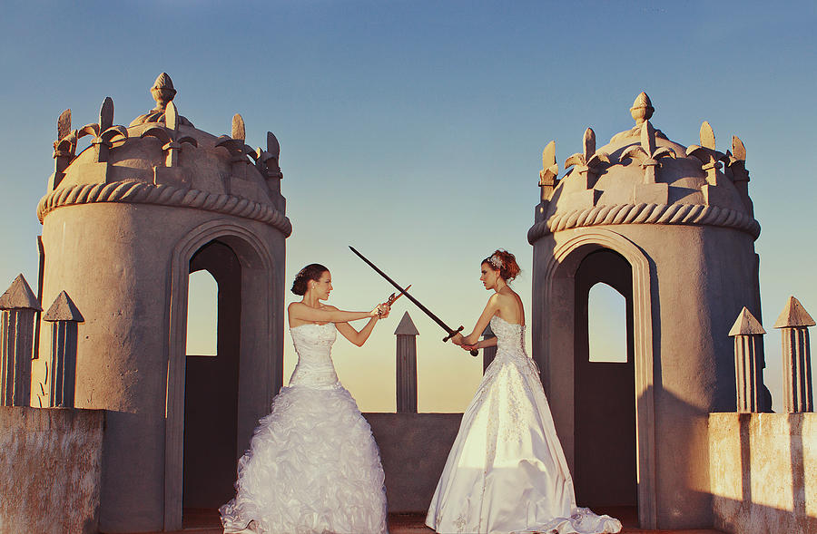 Bride wars Photograph by photo by Anna Theodora