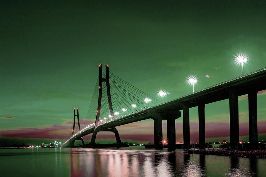 Bridge 2 -  - Surreal Art By Ahmet Asar Digital Art